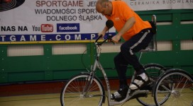 Paralyzed man rides a bike after a cell transplant in Poland.