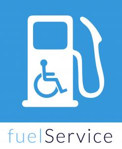 fuelService app - hulp bij het tanken voor gehandicapte bestuurders