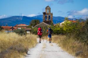 elise-en-steef-challenge-wandeltocht-naar-santiago-de-compostella - Camino Castello de Santiago -Oscar Corral - El Pais