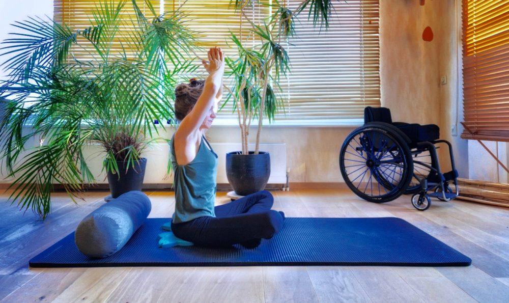 Unfreeze challenge de Corinne : Yoga pour Paraplégique